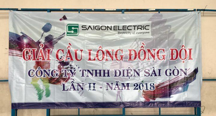 Giải cầu lông truyền thống lần thứ II -2018